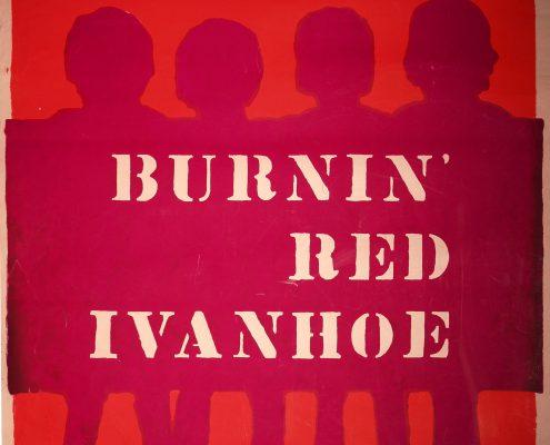 Burnin Red Ivanhoe plakat 1968